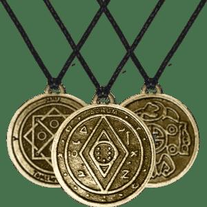Amulet Asli — pelajari lebih lanjut tentang menjadi kaya dengan koin Money Amulet